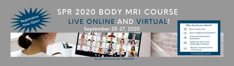 SPR 2020 BODY MRI COURSE